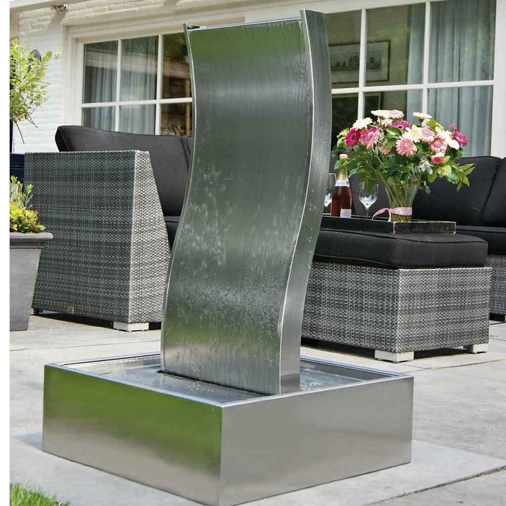 wasserfall element genova edelstahl inox 304 ab 769 00. Black Bedroom Furniture Sets. Home Design Ideas