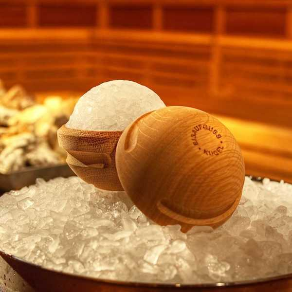 Sauna Eisaufguss Kugel - Hersteller   SAUNAGUT