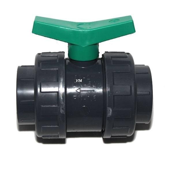 PVC Kugelhahn Polyethylendichtung