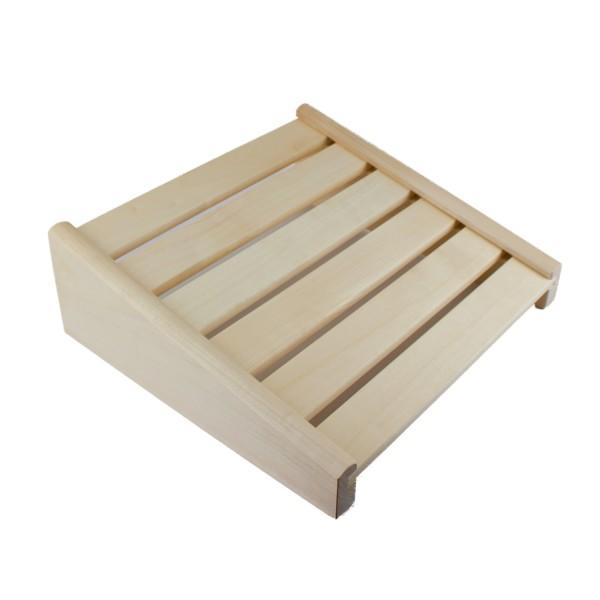 Stabile Sauna Kopfstütze aus Espenholz