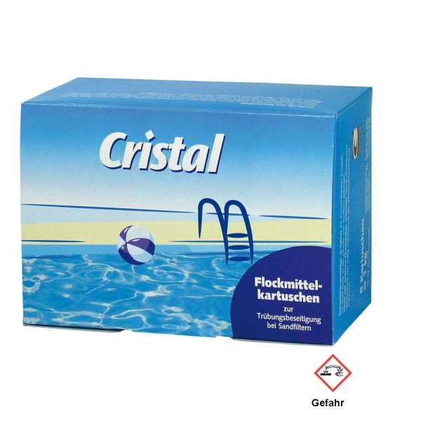 Cristal Flockmittel Kartuschen