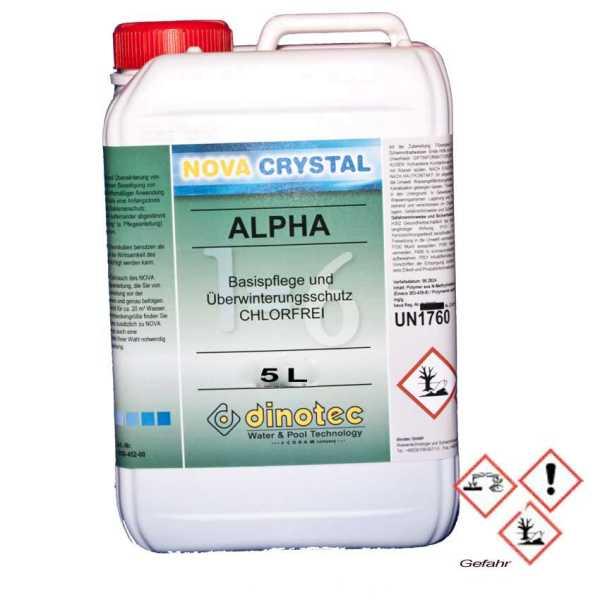 Nova Crystal Alpha 5 Liter Dinotec