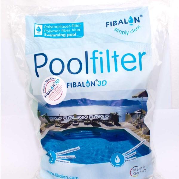 FIBALON 3 D Pool Filtermaterial für Sand und Kartuschenfilter