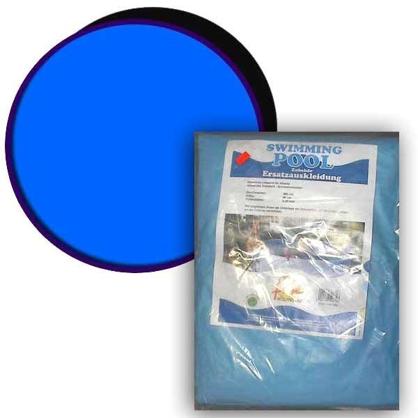 Ersatzinnenhülle Baumarktbecken 0,4 mm adriablau