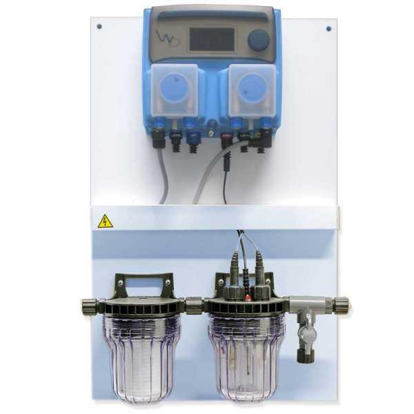 EMEC Dosieranlage  mit Schlauchquetschpumpen