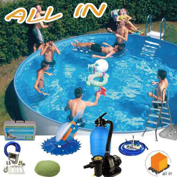 Future Pool All in One Schwimmbadset Rundbecken