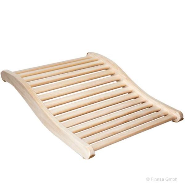 Ergonomische Rückenstütze aus Espenholz gefertigt