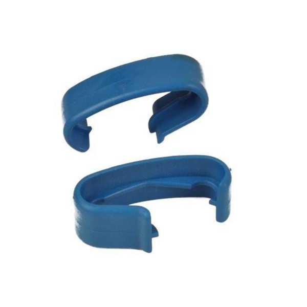 Handlauf-Zwischenstück für PVC-Handlauf blau