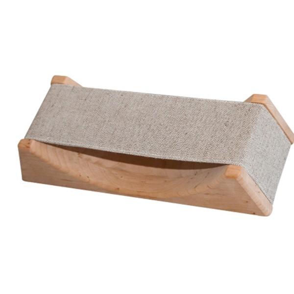 Sauna Kopfstütze mit abnehmbarer Textilbespannung