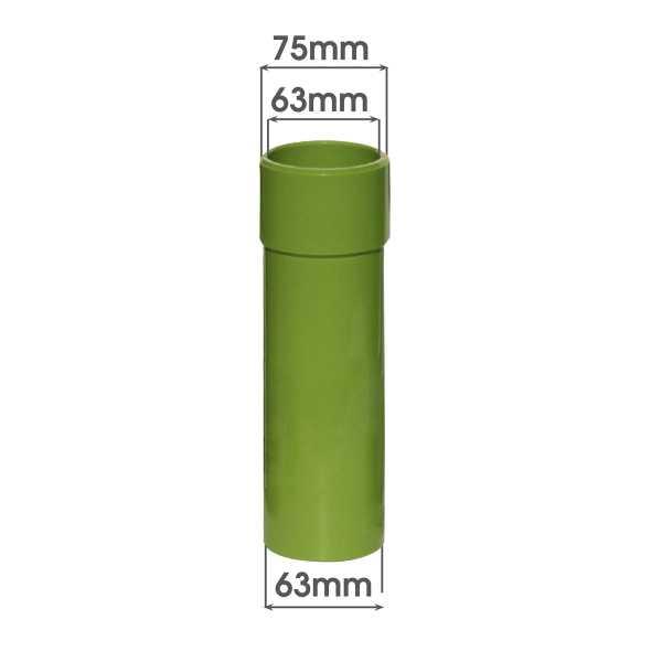 MTS Beckenwanddurchführung Verlängerung 170 mm 63/75