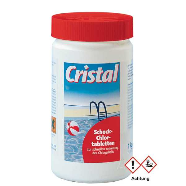 Cristal Schock Chlortablette 1 kg