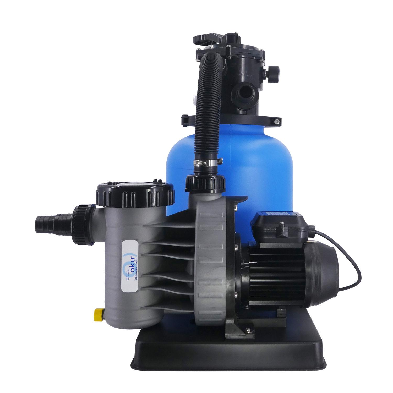 Sandfilteranlage Bali Ø 300mm mit Aqua Plus 4 m³//h Filteranlage Poolfilter