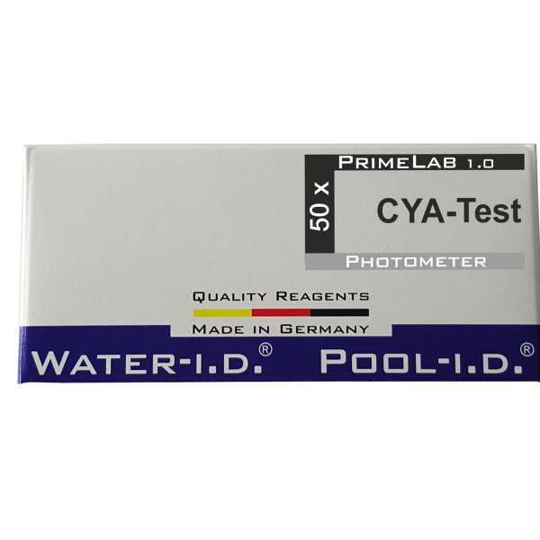 Nachfüllpackung CYA Tabletten für Pool Lab 1 .0 Photometer