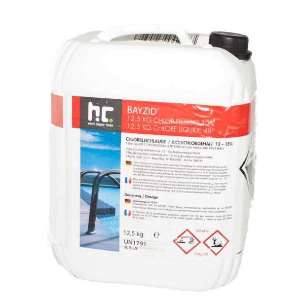 Bayzid Chlor flüssig Chlorbleichlauge 12,5 kg